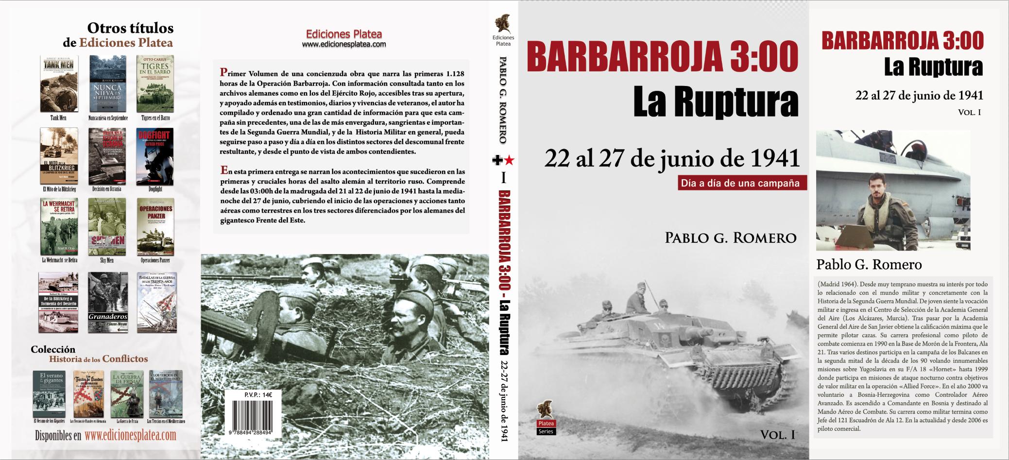 """SEGUNDA EDICIÓN Ya a la venta la segunda edición (Volúmen 1º) """"LA RUPTURA"""""""