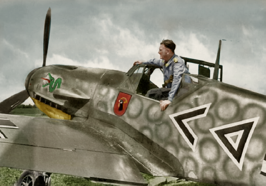 bf-109f2 stab i jg 3 lutsk ussr hahn july 1941