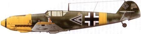 bf109 LG2 ihlefeld 1941 USSR Russian Front