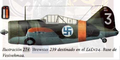 brewster ilmavoimat second world war svastika Finlandia