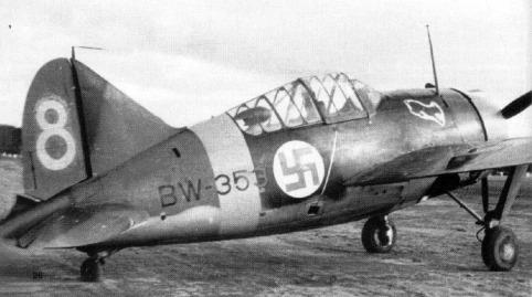 brewster239 ilmavoimat finlandia sgm escuadron caza lvle24 ww2