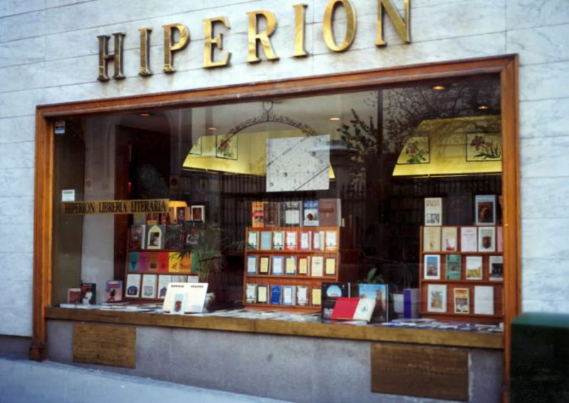 LIBRERÍA DISTRIBUIDORA EDICIÓN DE COLECCIONISTA Librería Hiperión, Calle de Salustiano Olozaga, 14, 28001 Madrid
