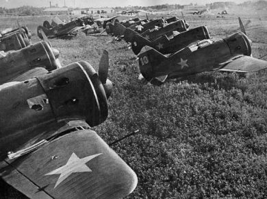Polikarpov fighters red air force