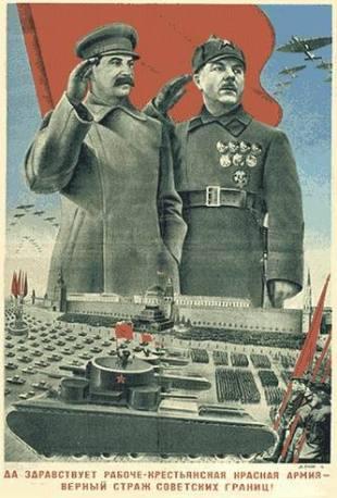 Ejercito rojo stalin voroshilov