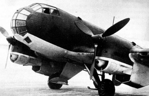 Junkers Ju-86P nose section