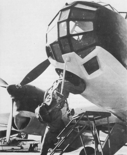 junkers ju-86p reconocimiento