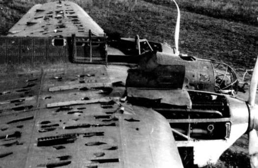 SB-2 shot down