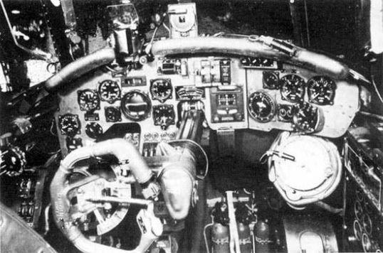 Do-17 cockpit