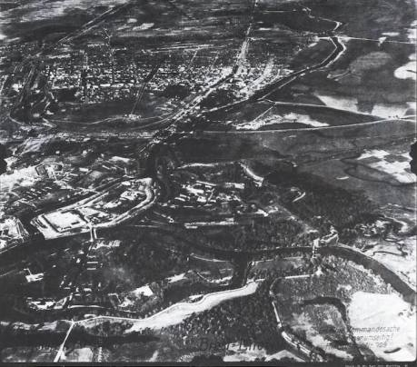 Luftwaffe Aerophography of Brest-Litovski in may41