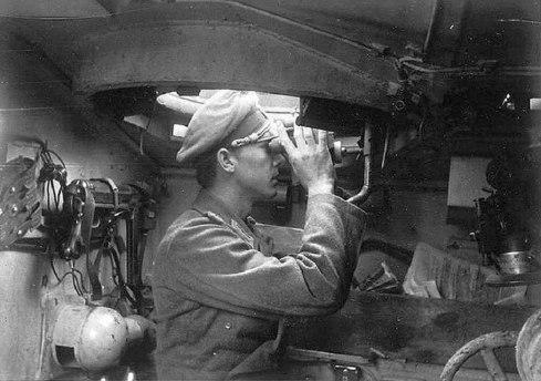stug III comandante en puesto
