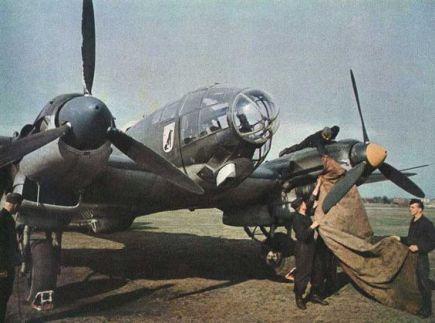 He-111 preflight