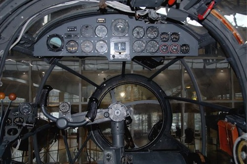 He-111 instrument panel