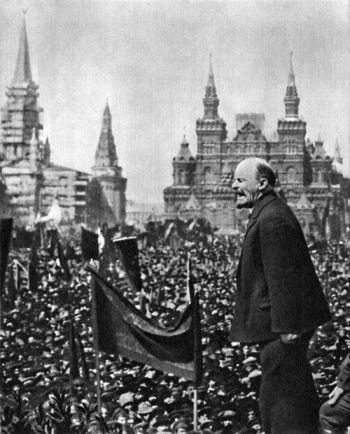 lenin plaza roja 1919