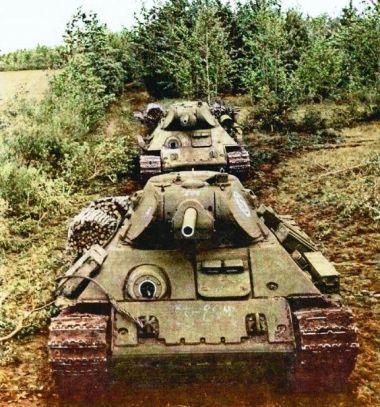 t-34 color
