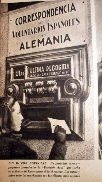 spanish postal service
