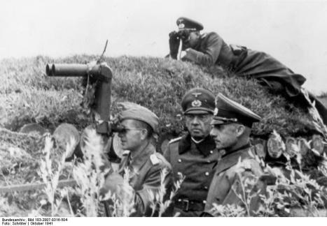 generalfeldmarschall von leeb generaloberst kuechler 1941