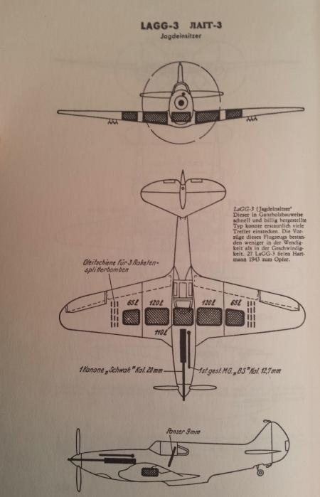 Luftwaffe manual Lagg-3