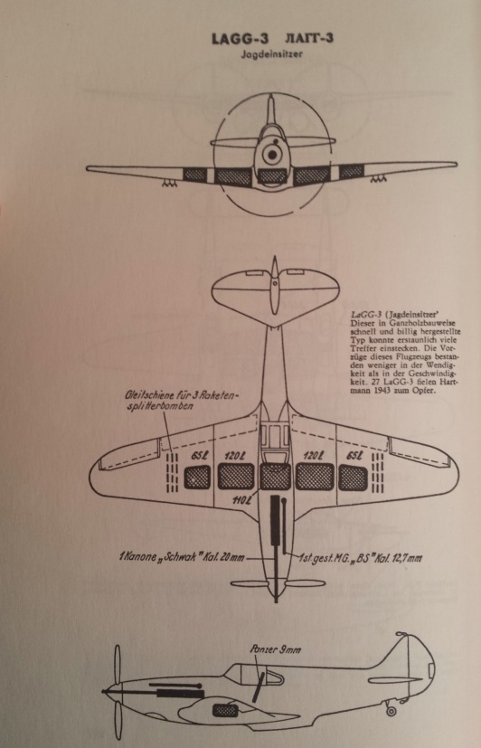 Luftwaffe manual Lagg-3