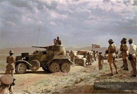 BA-10 invasión Irán anglo-soviética
