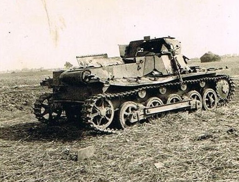 panzer I destroyed in Ukraine