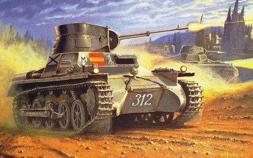 Panzer I breda 20 mm