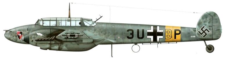 Bf-110E-6.:ZG 26. Rusia 1941