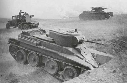 BT-5_maniobras Kiev-preguerra