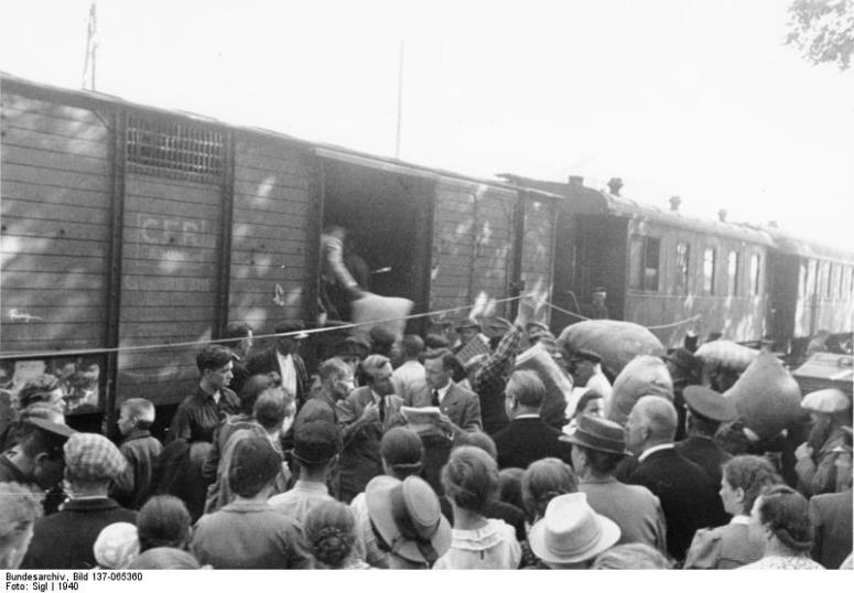 Germanos étnicos abandonan Besarabia