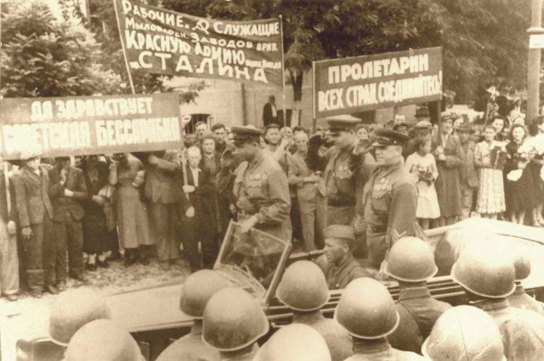 Zhukov en Besarabia 1940