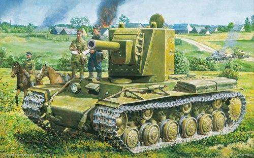 KV-2 dibujo