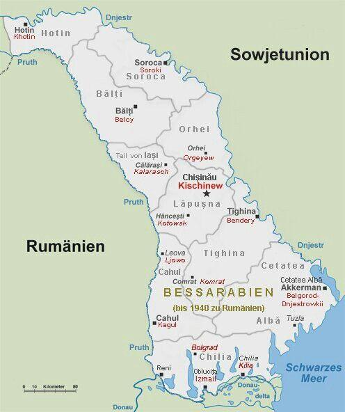 Detalle de Besarabia