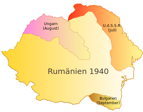 Romanian territorial losses
