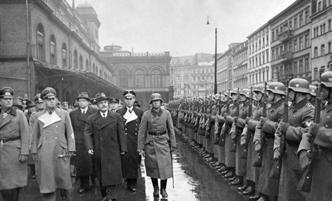 Ribbentrop Molotov 12 november 1940 in Berlin