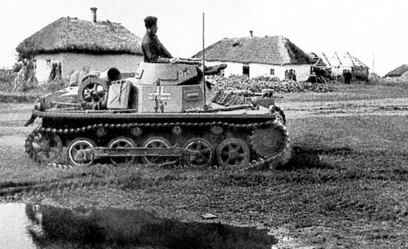 panzer I 1panzergruppe kleist ucrania 1941